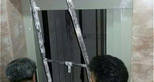 استفاده از آسانسور در حال نصب در مجتمع مسکونی حادثه آفرید