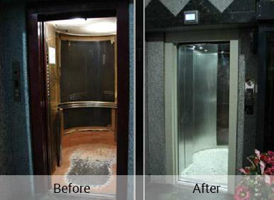 نوسازی آسانسورها